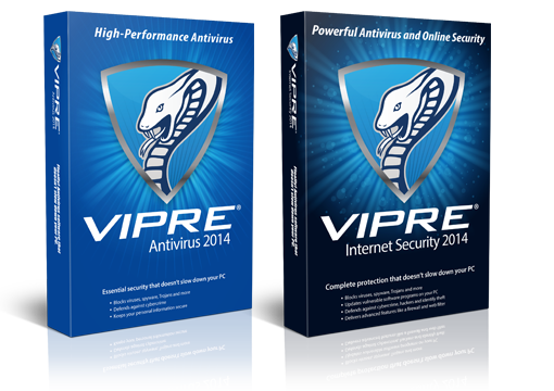 VIPRE Internet Security 2015 and VIPRE Antivirus 2015